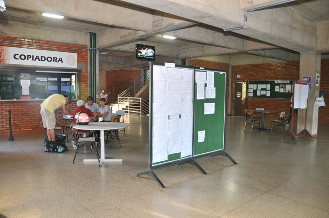 Hall - Entrada da faculdade